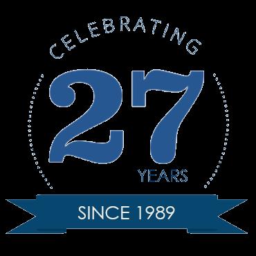 Celebrating 27 Years… (Transparent)