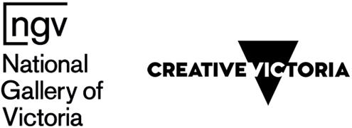 NGV & Creative Victoria logos 2016