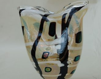 Vessel Clear Black White Folded Top (2014)